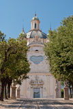 Коста della Santuario Madonna, Sanremo Стоковые Фото