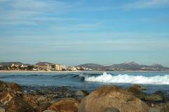 Коста los Мексика 2 cabos пляжа azul Стоковые Фотографии RF