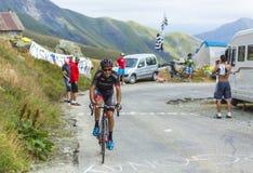 Коста Mendes - Тур-де-Франс 2015 Pimenta Хосе Joao велосипедиста Стоковая Фотография