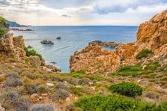 Коста Paradiso, Сардиния Стоковое фото RF