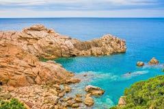 Коста Paradiso, Сардиния Стоковая Фотография RF