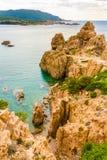 Коста Paradiso, Сардиния Стоковые Изображения RF
