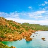 Коста Paradiso, Сардиния Стоковая Фотография