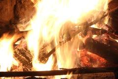 Костер вечера Стоковые Фотографии RF