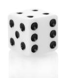 Косточка 3D для игр изолированных на белизне Конец-вверх Стоковые Фото