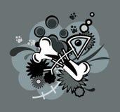 косточки абстракции Бесплатная Иллюстрация