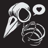 Косточки птицы Стоковые Фото