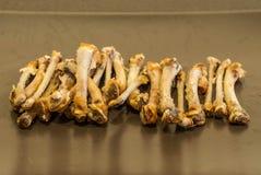 Косточки цыпленка Стоковые Фотографии RF