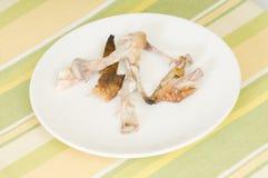 Косточки цыпленка Стоковые Фото