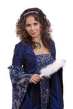 костюмирует женщину princess стоковые фото