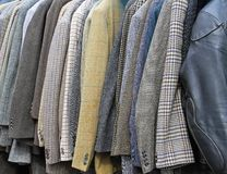 Костюмы и пальто стоковая фотография rf