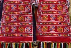 костюмы Люд-стиля от Болгарии Стоковая Фотография