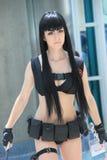 Костюмы Cosplayers нося и аксессуары моды на аниме Exp Стоковое Фото