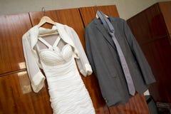 костюмы wedding Стоковые Изображения