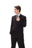 костюм бизнесмена стоковые изображения rf