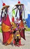 Костюм виска Бали Стоковое фото RF