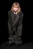 костюм девушки s папаа дела Стоковое Изображение