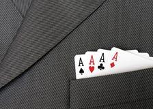 костюм карточки Стоковые Фотографии RF