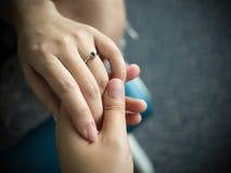 костюм кольца человека захвата Стоковое фото RF