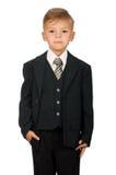 костюм мальчика Стоковое фото RF