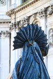 Костюм масленицы Венеции стоковое фото rf