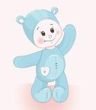 Костюм медведя ребенка Стоковое Изображение RF