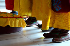Костюм Монголии традиционный Стоковые Изображения RF