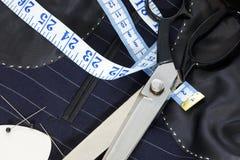 костюм подкладки жизни руки все еще сшитый Стоковое Изображение RF