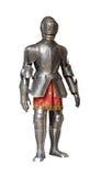 костюм рыцаря панцыря стоковые изображения rf