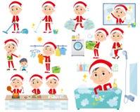 Костюм Санта Клауса dad_housekeeping иллюстрация вектора