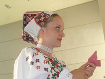 Костюм словака Стоковое фото RF
