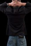 костюм человека пушки Стоковое Изображение RF