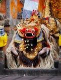 Костюм Barong - традиционный балийский театр стоковые фото