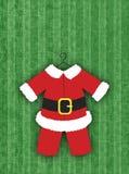 костюм santa Стоковые Изображения RF