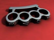 костяшки латуни 3d Стоковое фото RF