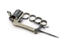 костяшки пушки апаша латунные Стоковые Фото
