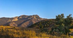Костлявая панорама горы стоковые фотографии rf