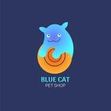 Котенок логотипа Стоковые Изображения