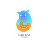 Котенок логотипа Стоковая Фотография RF