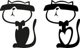 Котенок солнечных очков Стоковая Фотография RF