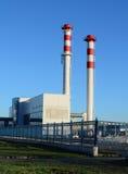 Котельная промышленного здания Стоковое фото RF