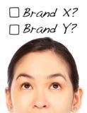 Который бренд? стоковое фото