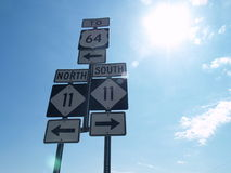 Который путь Стоковое Изображение