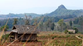 Коттедж долины Lang стоковое изображение rf