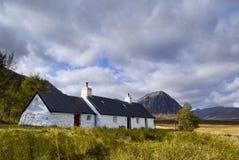 коттедж Шотландия blackrock стоковая фотография