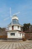 Коттедж ветрянки Стоковая Фотография