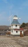 Коттедж ветрянки Стоковые Фото