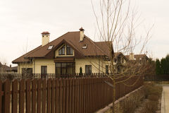 Коттедж в зоне Severinovka Украины Киева Стоковые Изображения RF