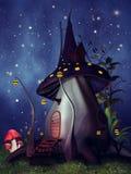 Коттедж гриба иллюстрация штока