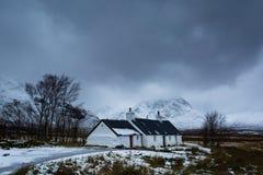 Коттедж зим Стоковое фото RF